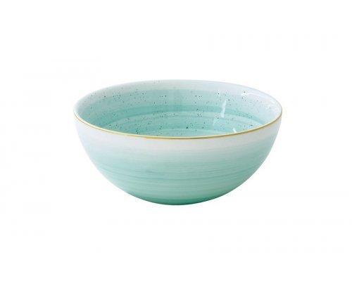 Салатник малый Easy Life (R2S) Artesanal (зелено-голубая) без индивидуальной упаковки