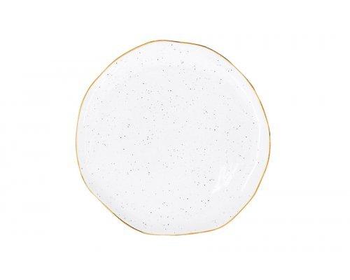 Тарелка Easy Life (R2S) Artesanal (белая) без индивидуальной упаковки