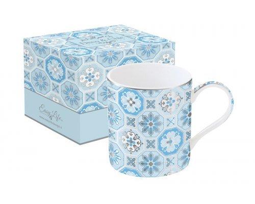Кружка Изразцы Easy Life (R2S) (голубая) в подарочной упаковке
