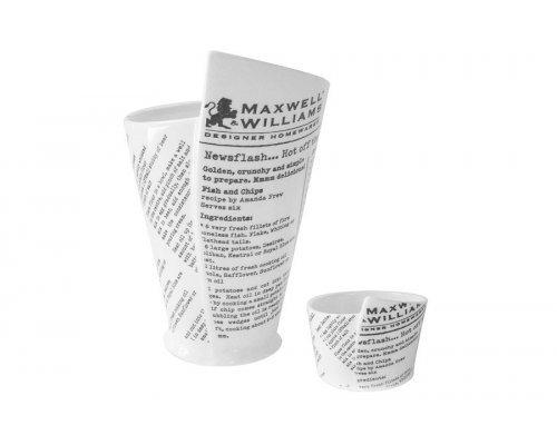 Набор: стакан + соусник Maxwell & Williams в подарочной упаковке