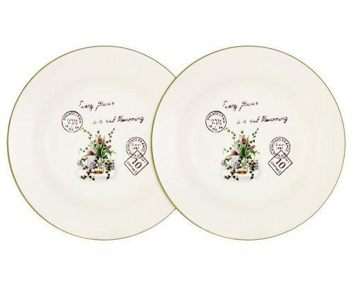 Набор из 2-х суповых тарелок 21 см Букет Anna Lafarg LF Ceramics