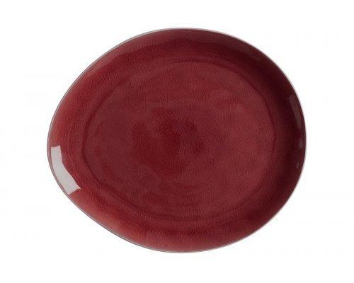 Тарелка овальная большая Artisan (Гранатовый) Maxwell & Williams без индивидуальной упаковки