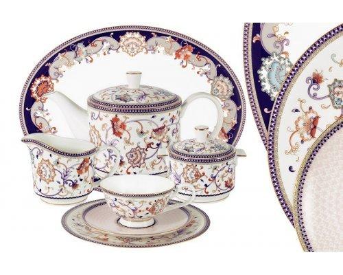 Чайный сервиз Королева Анна Anna Lafarg Emily 40 предметов на 12 персон