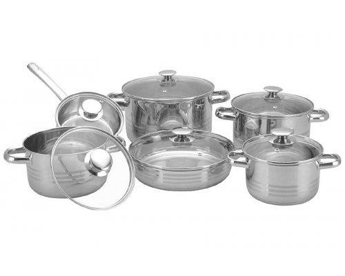 Набор посуды для приготовления 12 предметов Konig International