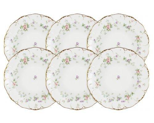 Набор из 6 суповых тарелок Воспоминание Narumi в подарочной упаковке