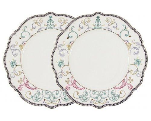 Набор из 2-х обеденных тарелок Узор Anna Lafarg Primavera в подарочной упаковке