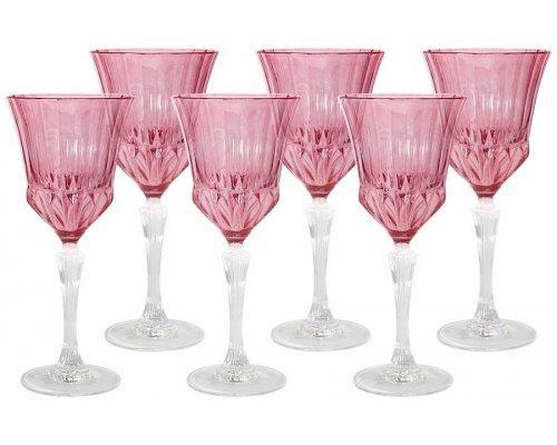 Набор: 6 бокалов для вина Same Адажио - розовая