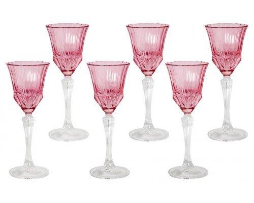 Набор: 6 рюмок для ликера Same Адажио - розовая