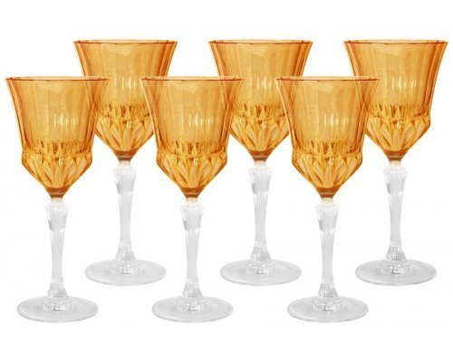Набор: 6 бокалов для вина Same Адажио - янтарная