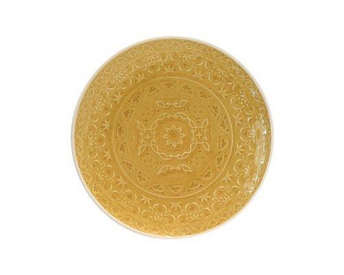 Тарелка закусочная (жёлтая) Ambiente Easy Life R2S без индивидуальной упаковки