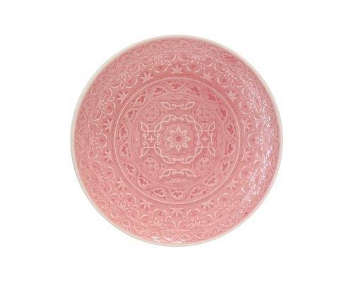 Тарелка закусочная (розовая) Ambiente Easy Life R2S без индивидуальной упаковки