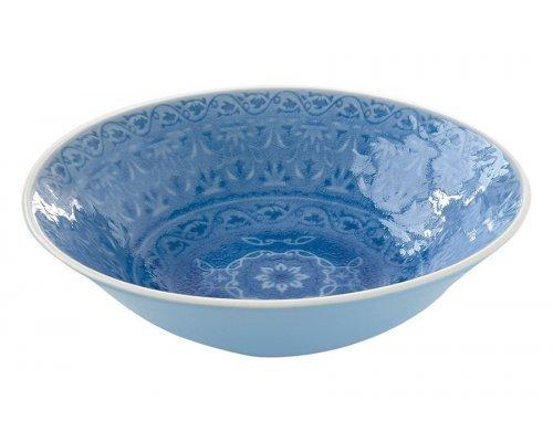 Тарелка суповая (голубая) Ambiente Easy Life R2S без индивидуальной упаковки