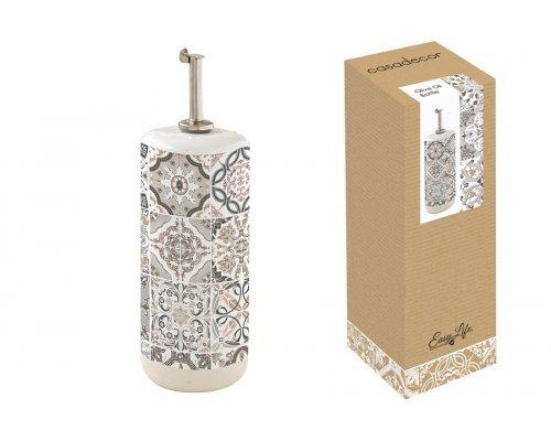 Бутылка для масла/уксуса (серая) Casadecor Easy Life R2S в индивидуальной упаковке