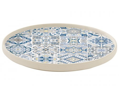 Тарелка обеденная (синяя) Casadecor Easy Life R2S без индивидуальной упаковки