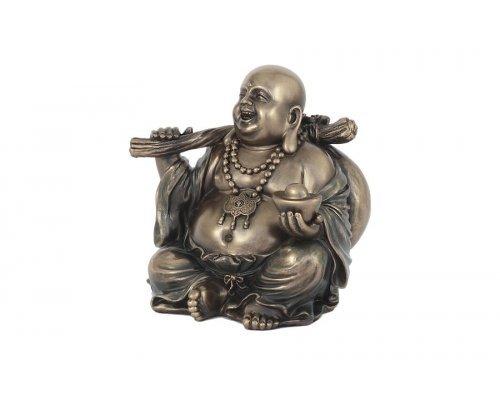 Статуэтка Будда с золотым слитком Veronese