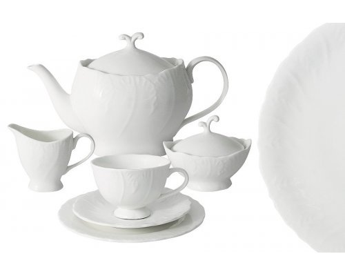 Чайный сервиз Белый город Anna Lafarg Emily 21 предмет на 6 персон