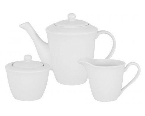 Набор: чайник, сахарница, молочник Движение Maxwell & Williams в подарочной упаковке
