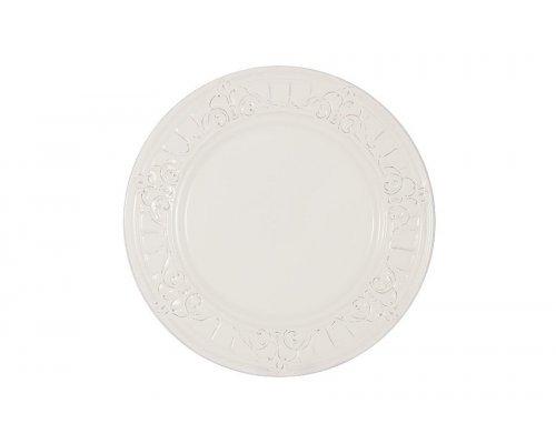 Тарелка закусочная Venice (белая) Matceramica без индивидуальной упаковки.