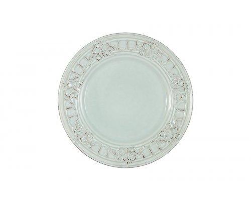 Тарелка закусочная Venice (голубая) Matceramica без индивидуальной упаковки