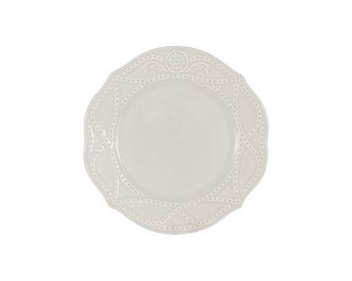 Тарелка закусочная Villa (белая) Matceramica без индивидуальной упаковки