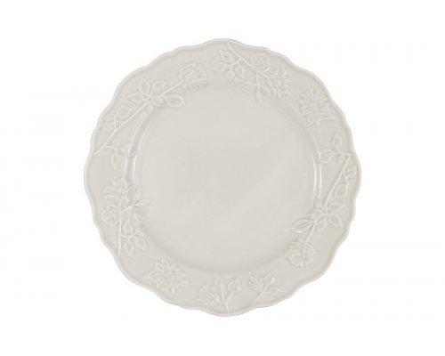 Тарелка обеденная Villa (белая) Matceramica без индивидуальной упаковки
