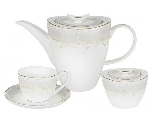 Чайный набор Венок Anna Lafarg Emily на 6 персон 14 предметов