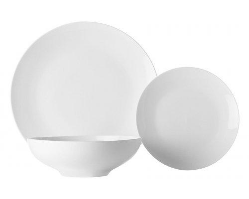 Набор обеденный на 4 персоны 12 предметов Белая коллекция Maxwell & Williams в подарочной упаковке