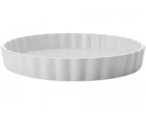 Блюдо круглое для выпечки (Киш) Белая коллекция Maxwell & Williams в подарочной упаковке