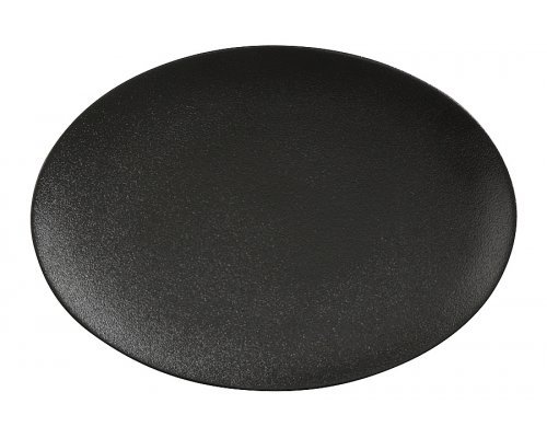Тарелка овальная (чёрная) Икра Maxwell & Williams без индивидуальной упаковки