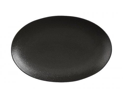 Тарелка овальная малая (чёрная) Икра Maxwell & Williams без индивидуальной упаковки