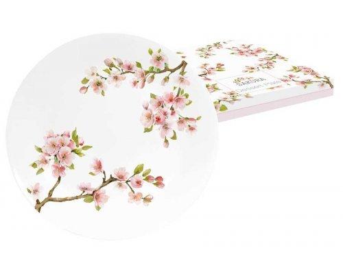 Тарелка десертная Японская сакура Easy Life R2S в подарочной упаковке