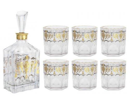 Набор для виски Same: штоф + 6 стаканов