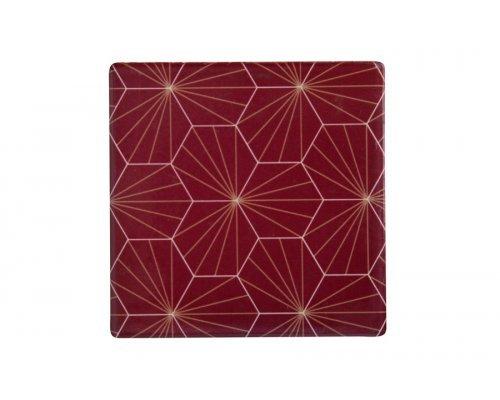 Подставка керамическая (красная) Aster без индивидуальной упаковки