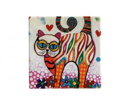 Подставка керамическая Кот без индивидуальной упаковки