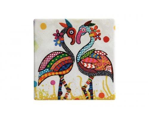 Подставка керамическая Фламинго без индивидуальной упаковки