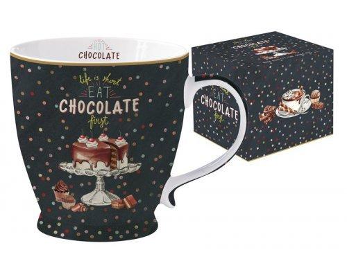 Кружка Hot Chocolate Easy Life R2S в подарочной упаковке