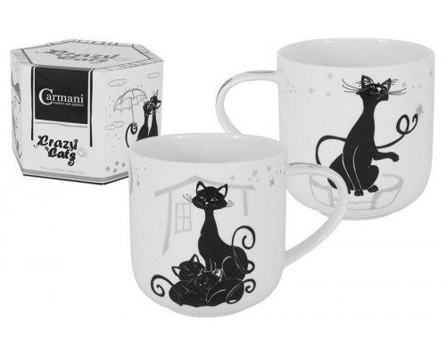 Кружка Crazy Cats Кошка с котятами