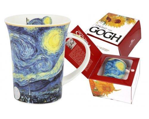 Кружка Звёздная ночь (В. Ван Гог) Carmani 0.35 л