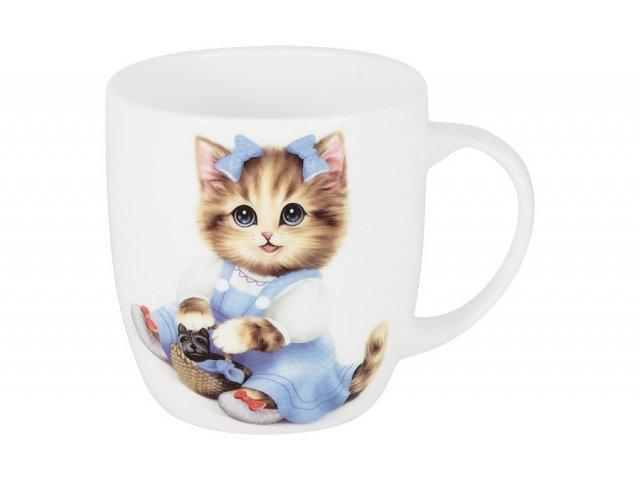 Кружка Котёнок в голубом Anna Lafarg Emily