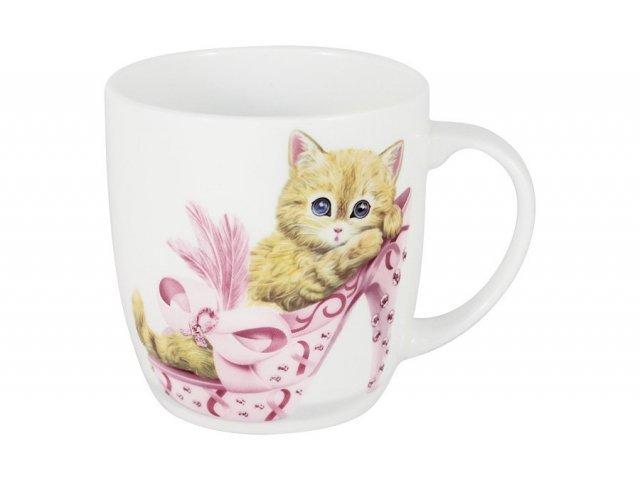 Кружка Котёнок в розовом Anna Lafarg Emily