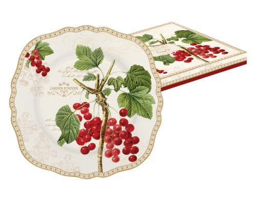 Тарелка десертная Красная смородина Easy Life R2S (Изи Лайф) в подарочной упаковке