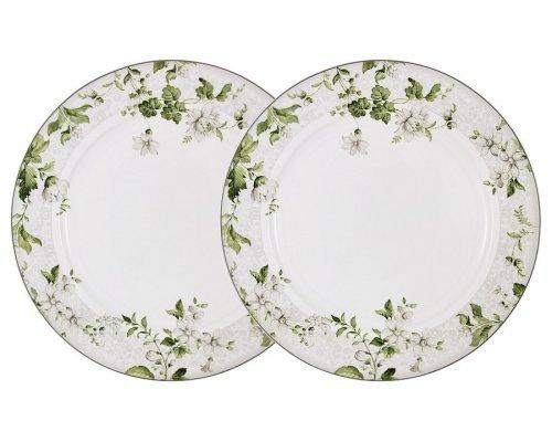 Набор из 2-х обеденных тарелок Веста Anna Lafarg Primavera в подарочной упаковке