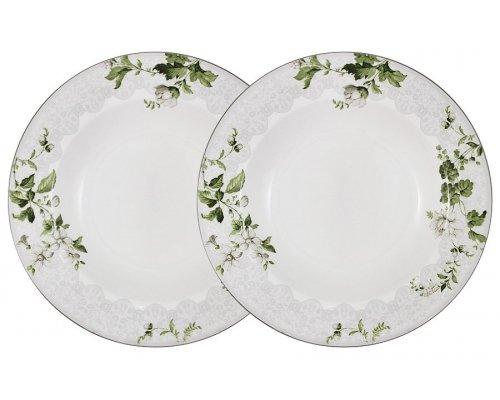 Набор из 2-х суповых тарелок Веста Anna Lafarg Primavera в подарочной упаковке