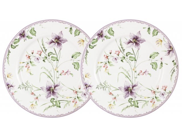 Набор из 2-х закусочных тарелок Селена Anna Lafarg Primavera в подарочной упаковке