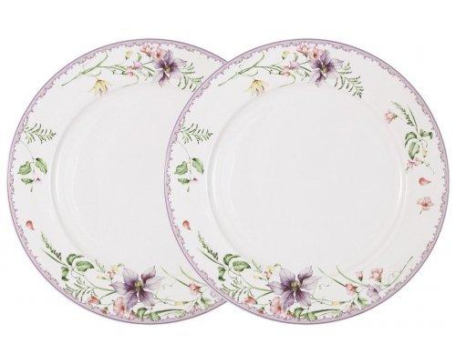 Набор из 2-х обеденных тарелок Селена Anna Lafarg Primavera в подарочной упаковке
