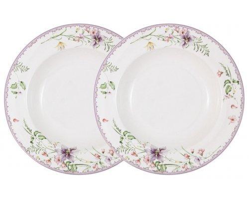 Набор из 2-х суповых тарелок Селена Anna Lafarg Primavera в подарочной упаковке