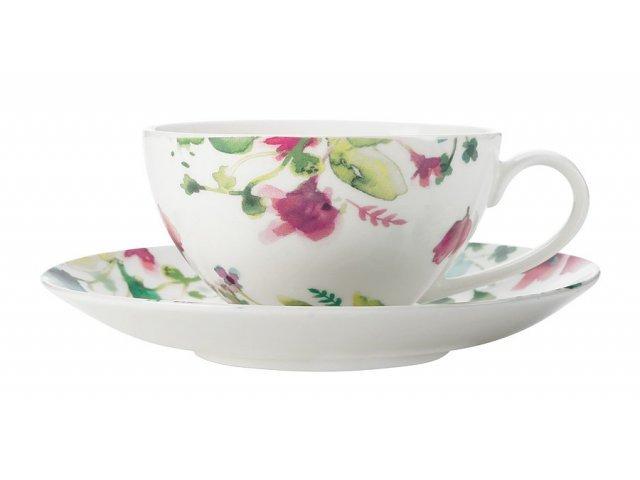 Чашка с блюдцем Primavera Maxwell & Williams 0,25 л без индивидуальной упаковки
