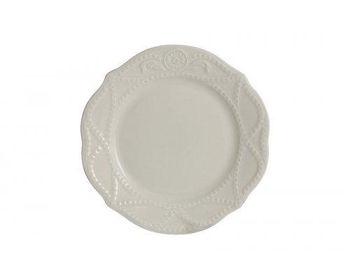 Тарелка закусочная Villa (кремовая) без индивидуальной упаковки