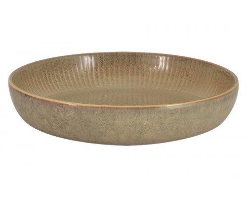 Салатник - тарелка для пасты Comet (песочный) в индивидуальной упаковке
