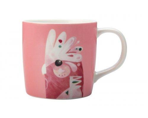 Кружка Maxwell & Williams Розовый какаду в подарочной упаковке
